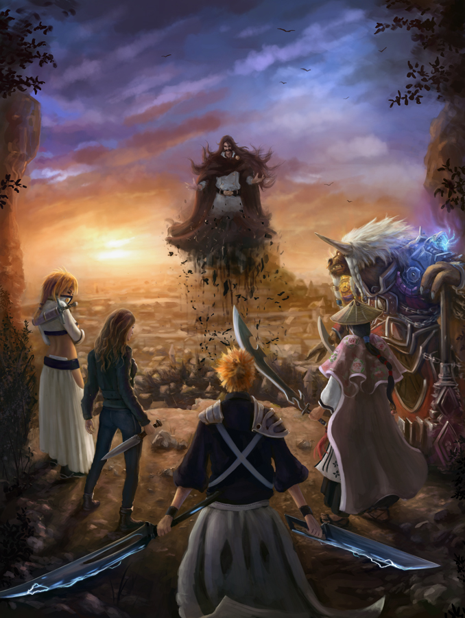 A World in Conflict Crossover Bleach and World of Warcraft by Jorsch