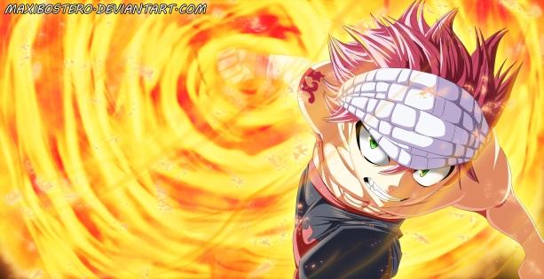 Fairy Tail 442 Natsu by maxibostero