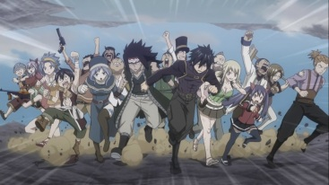 Fairy Tail fights