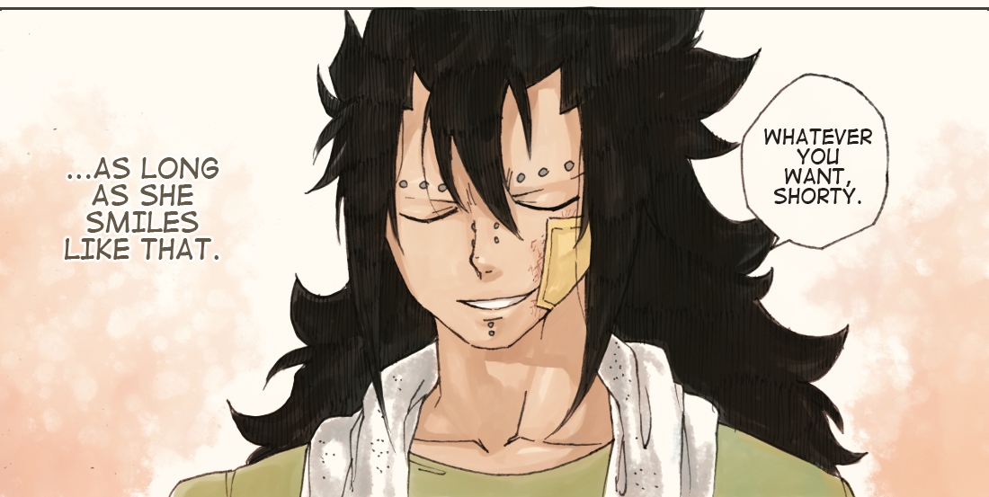 Gajeel and Levy 5