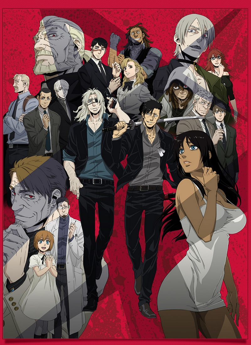 Gangsta Anime Poster