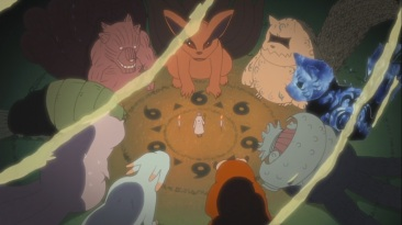 Hagoromo with all 9 Tailed Beasts