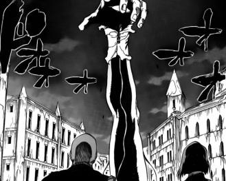 Ikkaku and Yamichika against Pernida Soul King's Left Arm