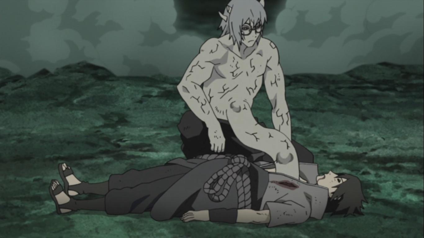 sasuke and hinata kiss episode