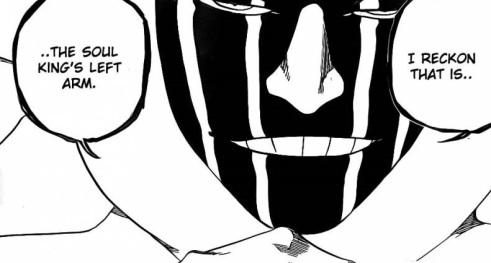 Mayuri Soul King's Left Arm