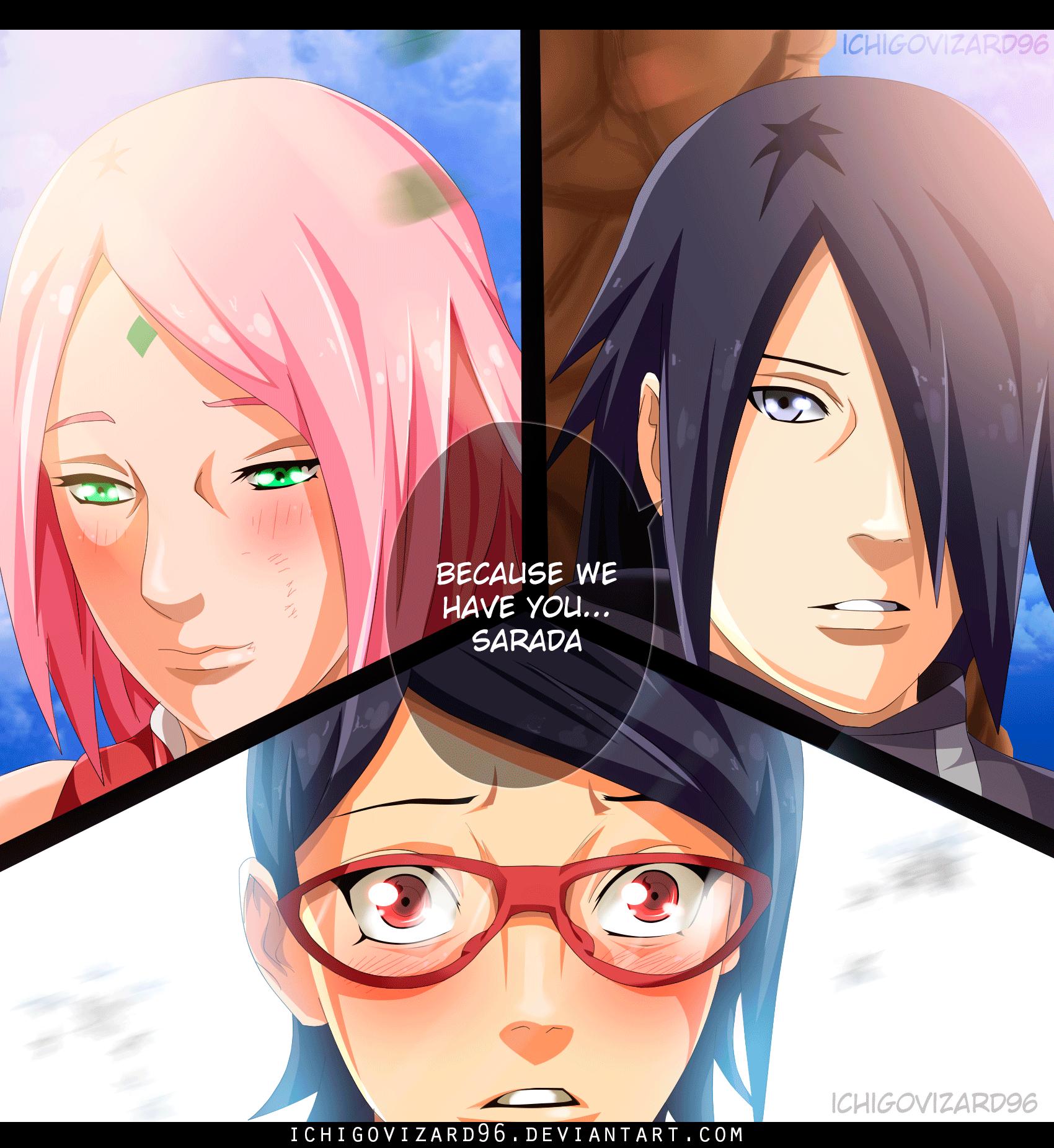 Naruto Gaiden Sasuke And Sakura - Naruto Akatsuki
