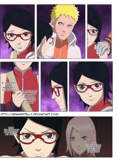 Naruto Gaiden 9 Sarada by dennisstelly