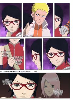 Naruto Gaiden 9 Sarada by dennisstelly