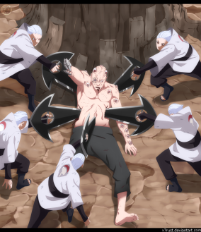 Naruto Gaiden 9 Shin Stabs by X7Rust