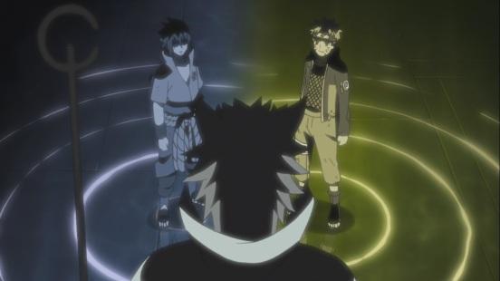 Naruto Sasuke and Hagoromo