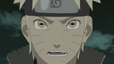 Naruto's Sage Enhanced Mode