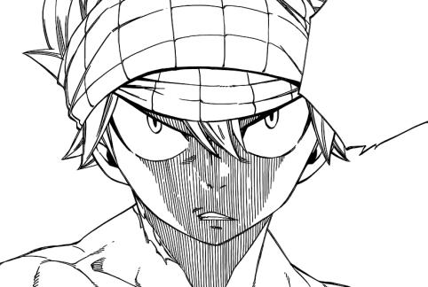 Natsu wants to fight Brandish
