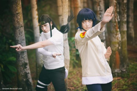 Neji and Hinata Hyuga by vaxzone