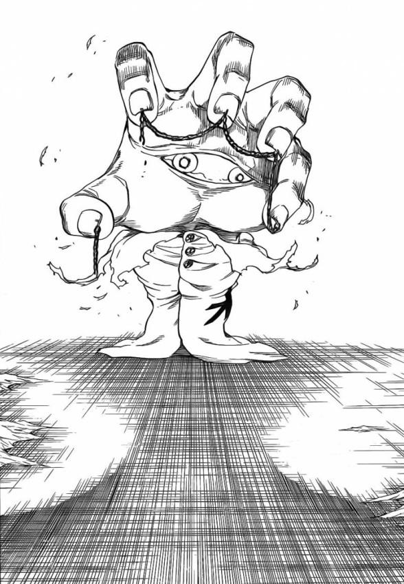 Pernida's true form Soul King's Left Arm