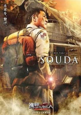 Pierre Taki as Souda