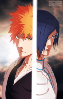 Bleach 640 Ichigo vs Uryu by trinuma020