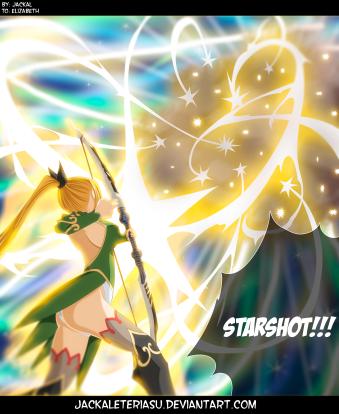 Fairy Tail 446 Lucy Starshort by jackaleteriasu