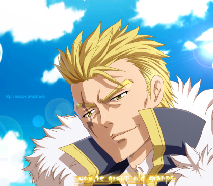 Fairy Tail 447 Laxus by mansour-s