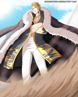 Fairy Tail 447 Laxus by maxibostero