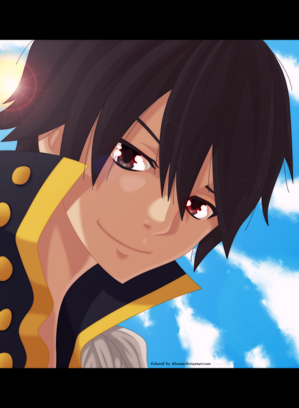Fairy Tail 449 Zeref by alexanj