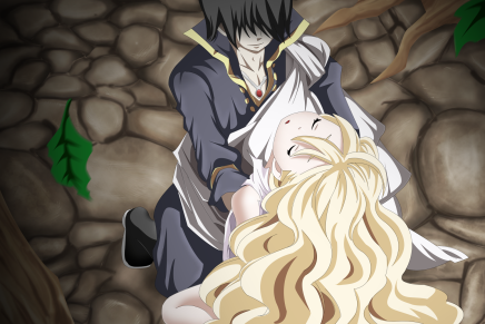 Love Between Immortals! Mavis and Zeref – Fairy Tail 450