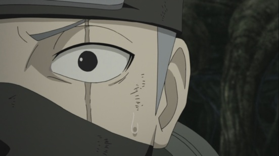 Kakashi regains original left eye