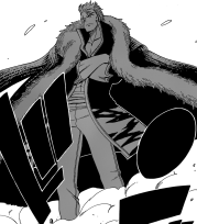 Laxus arrives