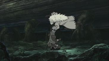 Madara takes Kakashi's Sharingan