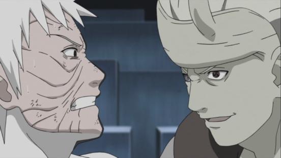 Madara talks to Obito