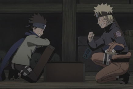 Naruto and Konohamaru! Rasengan Training – Naruto Shippuden 423