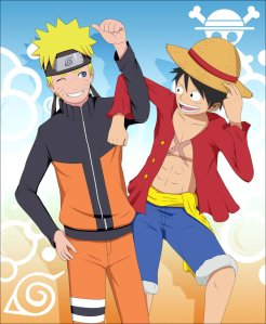 Naruto and One Piece