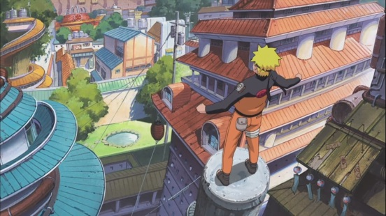 Naruto arrives in Konoha