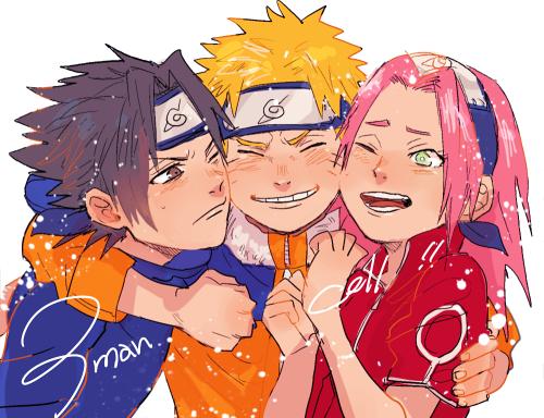 Naruto Sasuke and Sakura