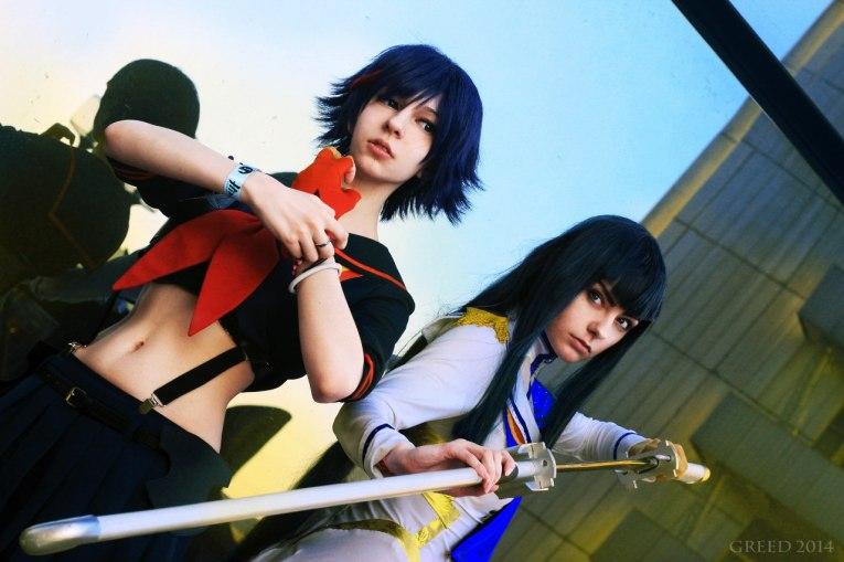 Ryoko and Satsuki Cosplay by AlienOrihara