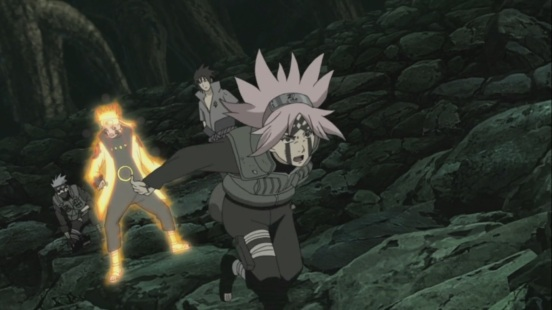 Sakura fired up