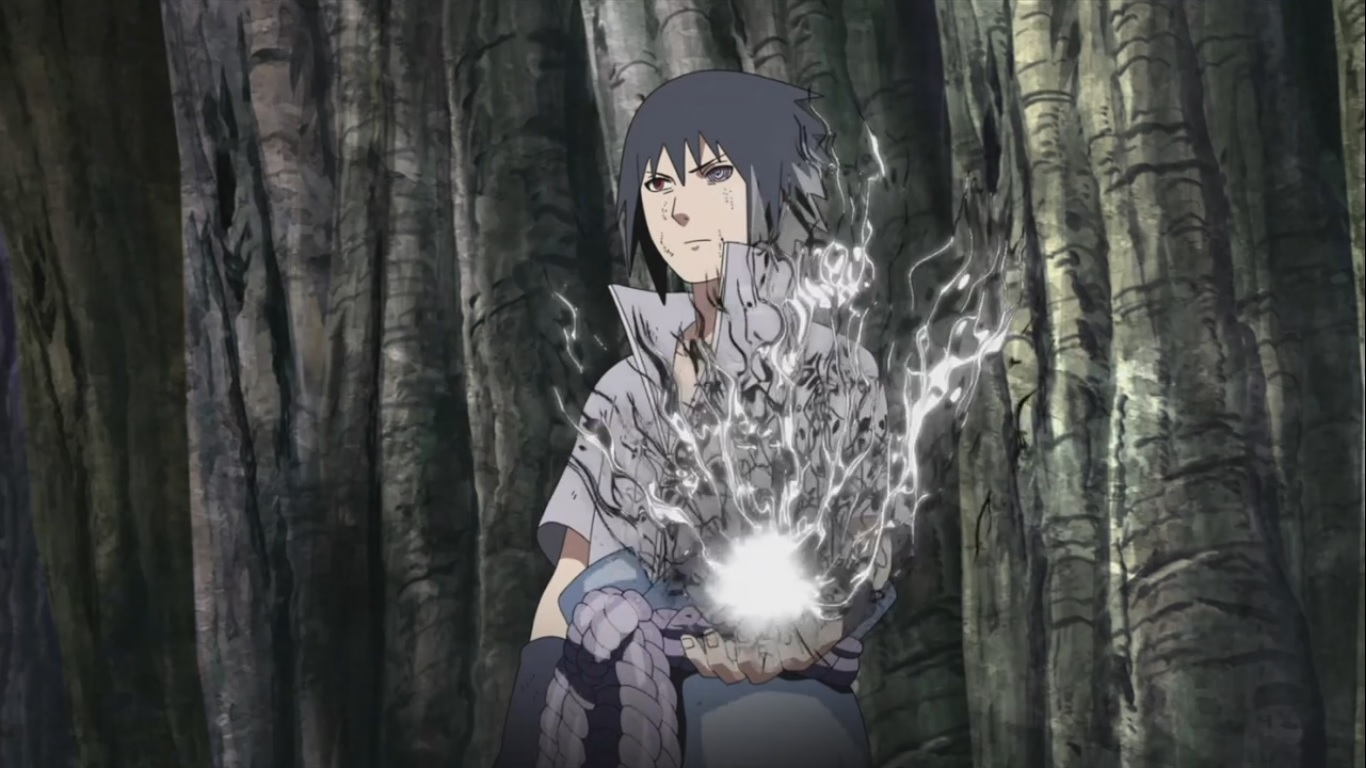 Sasuke's Chidori | Daily Anime Art