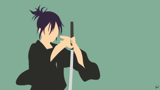 Yato Noragami Minimalistic by greenmapple17