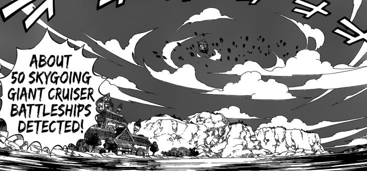 Alvarez Sky Battleships approaching