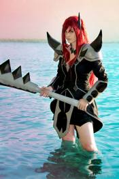 Cosplay Erza Scarlet Purgatory Armor by Arrysia
