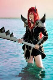 Cosplay Erza Scarlet Purgatory Armor by Arrysia