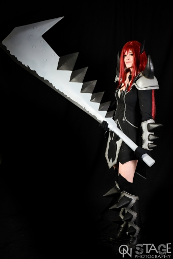 Erza Scarlet Purgatory Armor by Arrysia