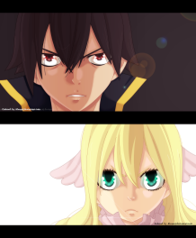 Fairy Tail 452 Mavis Zeref by alexanj