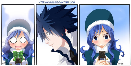 Fairy Tail 453 Gray and Juvia by kisi86