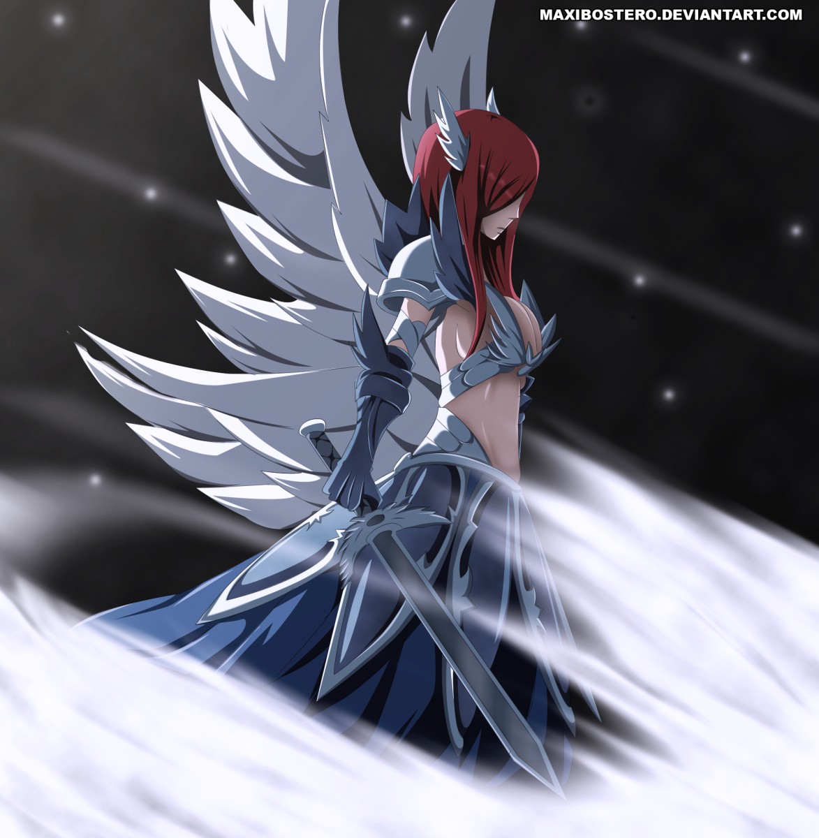 Fairy tail vs alvarez empire erza vs azir fairy tail - Image manga fairy tail ...