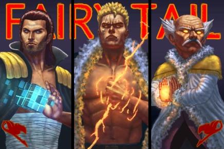 Fairy Tail Powerhouses – Makarov, Laxus andGildarts