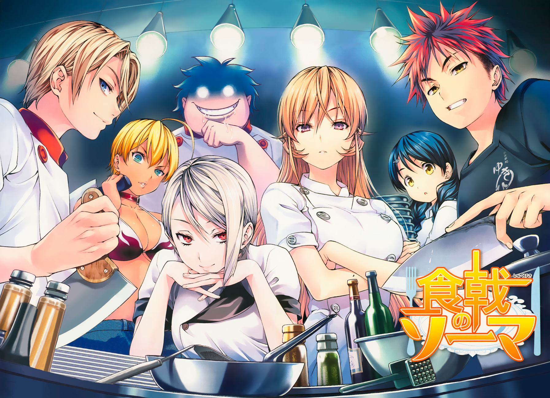 Kết quả hình ảnh cho Shokugeki no Souma Food Wars anime