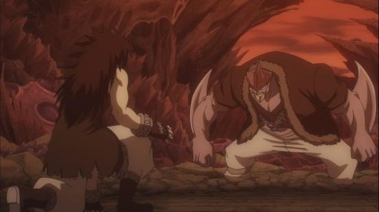Gajeel vs Torafusa