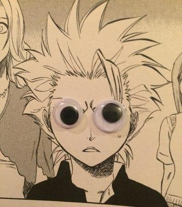 Hitsugaya Googly Eyes