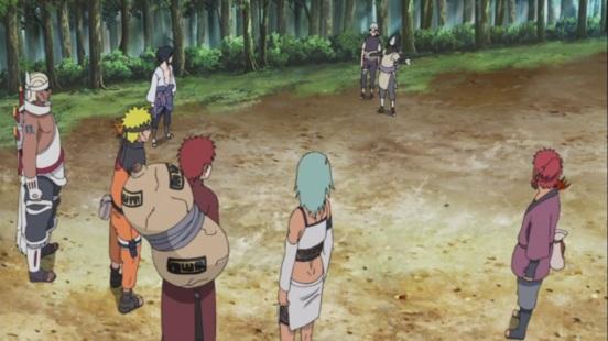 Jinchuuriki Sasuke and Orochimaru
