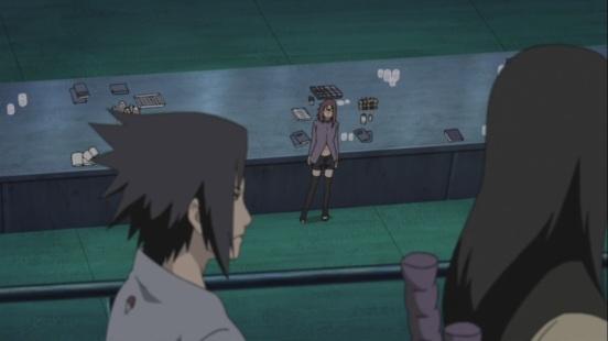 Karin see's Sasuke